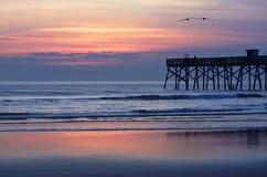 De zonsopgang van Florida Royalty-vrije Stock Afbeeldingen