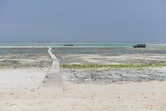 De Zonsopgang van Indische Oceaan Stock Afbeelding