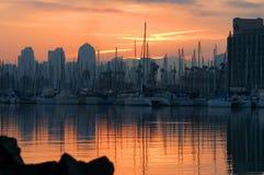 De zonsopgang van San Diego Stock Foto