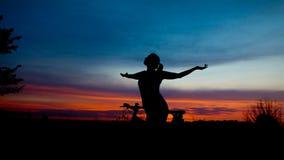 De zonsopgang van vrijheid Stock Afbeeldingen
