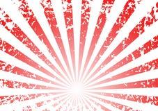 De zonsopgangachtergrond van Grunge stock illustratie