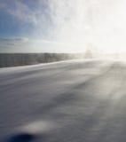 De Zonvallei van de skitoevlucht Stock Foto's