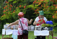 DE ZOON VAN AZIË THAILAND MAE HONG stock fotografie