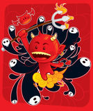 De Zoon van de duivel vector illustratie