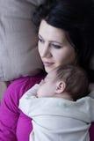 De zoon van de moeder en van de baby Royalty-vrije Stock Foto's