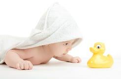 De zorg van de baby Royalty-vrije Stock Foto
