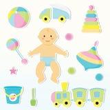 De zorg van de baby Royalty-vrije Stock Foto's