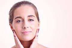De zorg van de huid stock fotografie