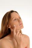 De zorg van de huid Stock Foto