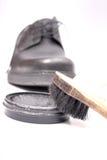 De zorg van de schoen Royalty-vrije Stock Afbeeldingen
