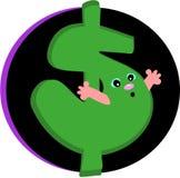 De Zorg van het geld Stock Afbeeldingen