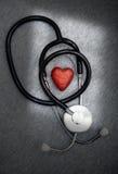 De zorg van het hart Stock Foto's
