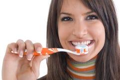 De zorg van tanden Stock Afbeeldingen