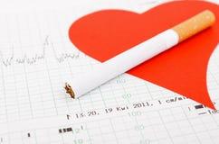 De zorgconcept van het hart Stock Afbeelding