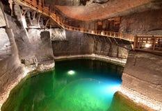 De zoute mijn van Wieliczka Stock Foto's