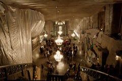 De zoute mijn van Wieliczka Royalty-vrije Stock Fotografie