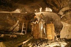 De zoute mijn van Wieliczka Stock Afbeelding