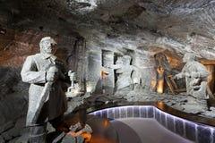 De zoute mijn van Wieliczka Royalty-vrije Stock Foto