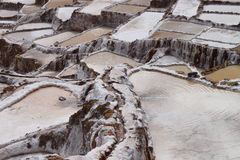 De zoute terrassen van Moray Stock Afbeelding