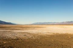 De Zoute Vlakke Vormingen van de doodsvallei Stock Foto's