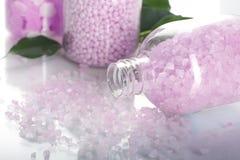 De zouten van Aromatherapy royalty-vrije stock foto