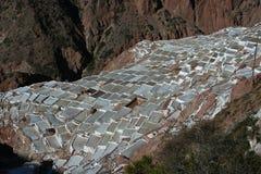 De zoutmeren van Inca Royalty-vrije Stock Afbeeldingen