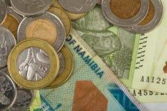 De Zuidafrikaanse bankbiljetten van landen Stock Afbeelding