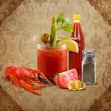 De zuidelijke Emporium Inzameling van het Fruit van New Orleans Louisiane bloeit Voedsel stock foto's