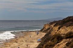 De zuidelijke kust van Californië Stock Foto's
