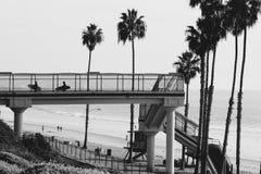 De zuidelijke kust van Californi? stock foto
