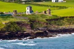 De Zuidelijke Kust van Ierland royalty-vrije stock afbeeldingen