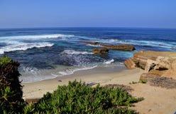 De zuidelijke kustlijn van Californië royalty-vrije stock foto's