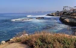 De zuidelijke kustlijn van Californië royalty-vrije stock foto