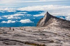 De zuidenpiek van Kinabalu zet op Stock Afbeelding