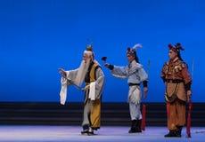"""De zuidpool de kokkel-vijfde handeling steelt onsterfelijk-Kunqu Opera""""Madame Witte Snake† stock afbeeldingen"""