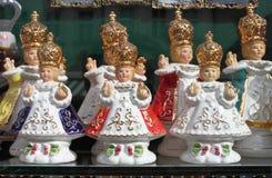De Zuigeling Jesus van Praag royalty-vrije stock fotografie
