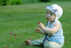 De zuigeling van de baby Royalty-vrije Stock Afbeelding