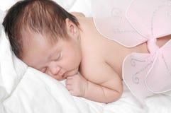 De Zuigeling van de slaap stock foto