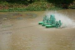 De Zuiveringsinstallatie van het water Stock Foto