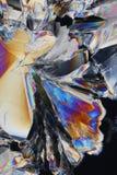 De zure Achtergrond van Kristallen royalty-vrije stock foto's