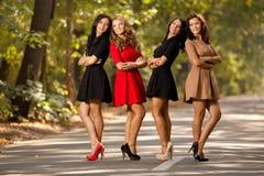 De zusters van de manier Stock Foto's
