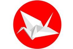 De Zwaan van de origami Royalty-vrije Stock Afbeelding