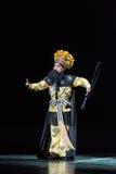 """de zwaardvechter-Purpere Haarspeld--jiangxi opera""""four dromen van linchuan† Stock Foto's"""