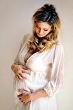 De zwangerschap Stock Fotografie