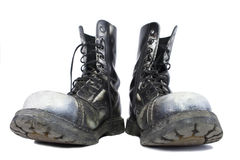 De zware laarzen van de pret Royalty-vrije Stock Afbeeldingen