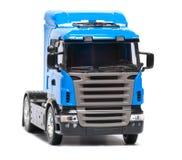 De zware vrachtwagen van het stuk speelgoed Stock Foto's