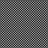 De zwart-wit het herhalen achtergrond van het hartpatroon vector illustratie