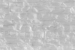 De zwart-wit ongelijke textuur van de baksteenstructuur voor achtergrond Royalty-vrije Stock Foto