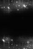 De Zwart-witte Achtergrond van de discopartij royalty-vrije illustratie