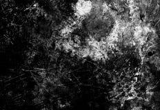 De zwart-witte achtergrond van de grungetextuur, gebruik voor bekleding op im stock afbeelding